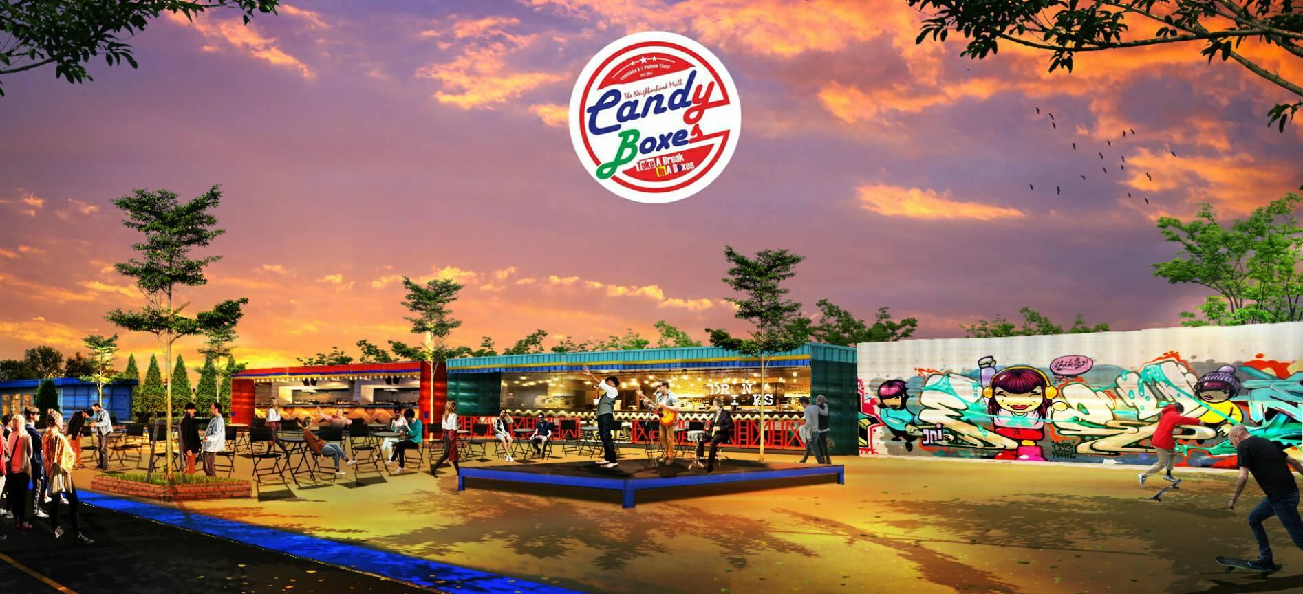 Candyboxes,แคนดี้บ๊อก,ตลาดนัด,ทำเลค้าขาย